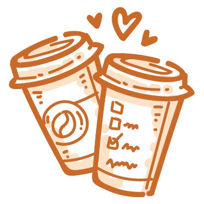 Coffee time! iMessage stickers messages sticker-4