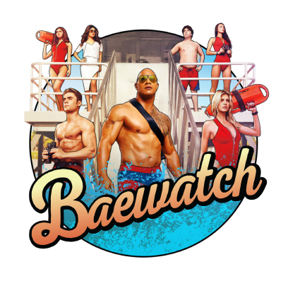 Baywatch Stickers messages sticker-3