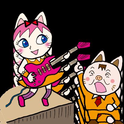 猫がーる(バンド) messages sticker-7