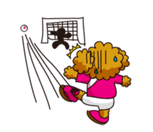 Dog Soccer Club! messages sticker-7