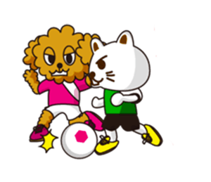 Dog Soccer Club! messages sticker-0
