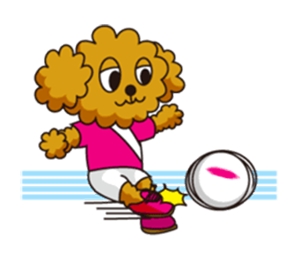 Dog Soccer Club! messages sticker-3