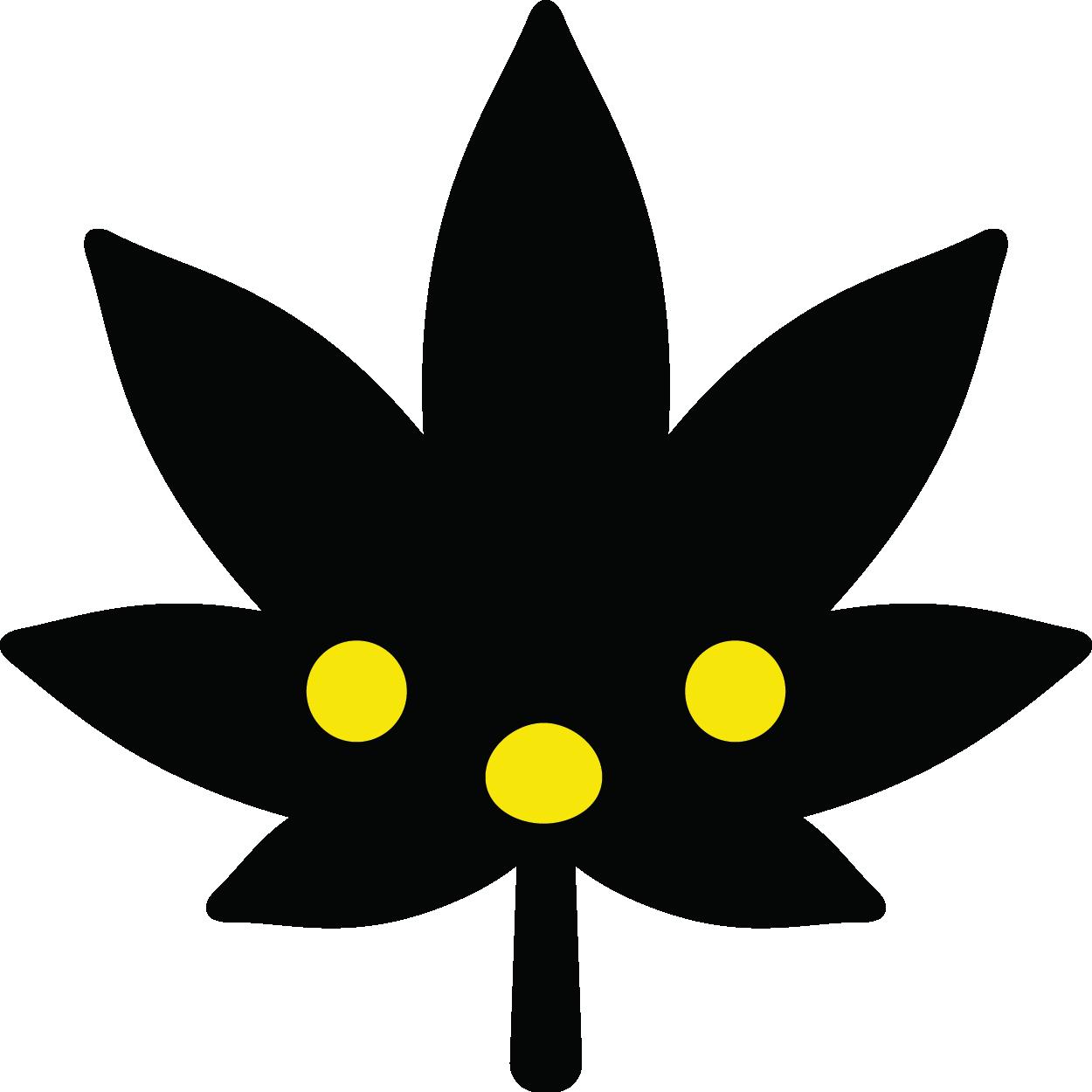 Potmoji Black Edition messages sticker-1