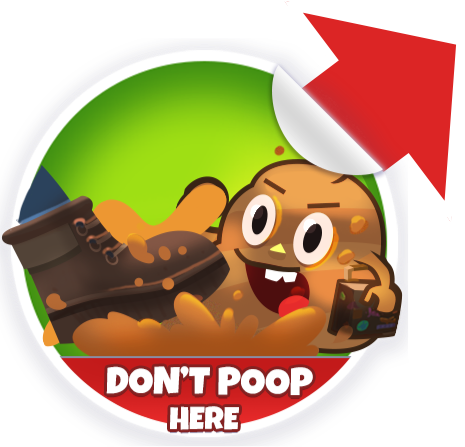 Poop Dodge Sticker Pack messages sticker-6