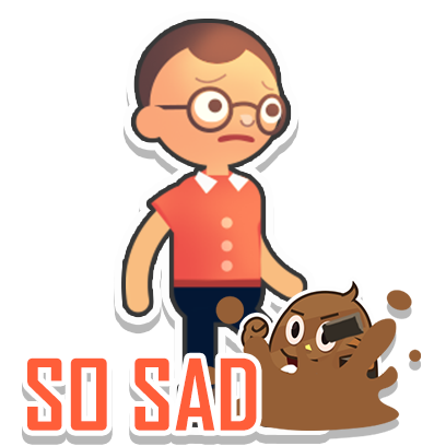 Poop Dodge Sticker Pack messages sticker-1