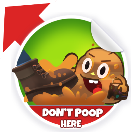 Poop Dodge Sticker Pack messages sticker-3