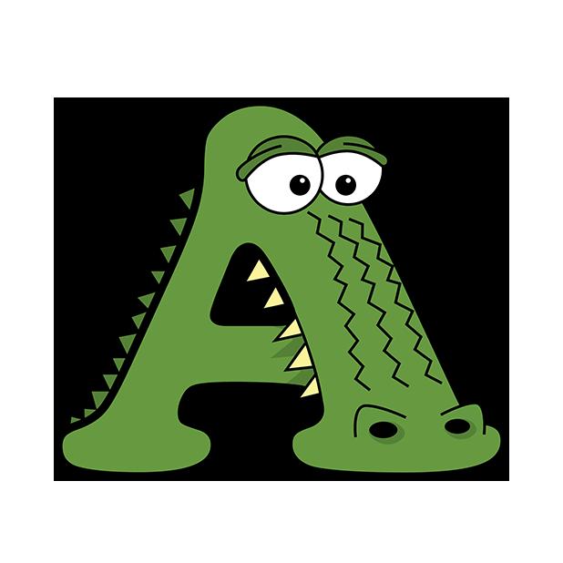 Alphabetimals Stickers messages sticker-0