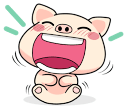 Pig and Cat Lovely Friend messages sticker-10