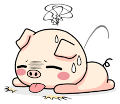 Pig and Cat Lovely Friend messages sticker-5