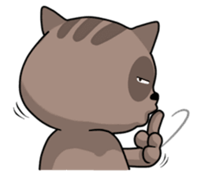Pig and Cat Lovely Friend messages sticker-3