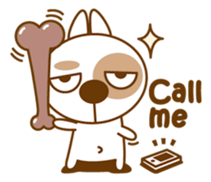 Funny Little Dog messages sticker-2