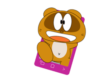 Funny Beaver Stickers! messages sticker-1
