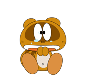 Funny Beaver Stickers! messages sticker-8