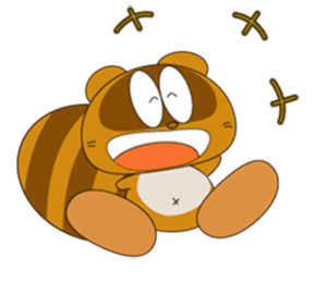 Funny Beaver Stickers! messages sticker-3