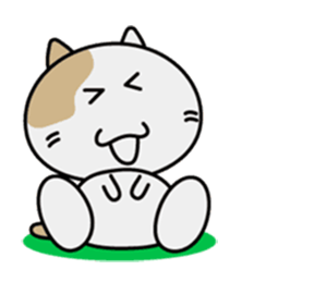 Anime Cat - New Stickers! messages sticker-10