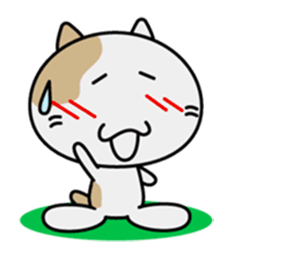 Anime Cat - New Stickers! messages sticker-11