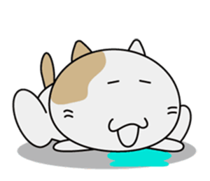 Anime Cat - New Stickers! messages sticker-0