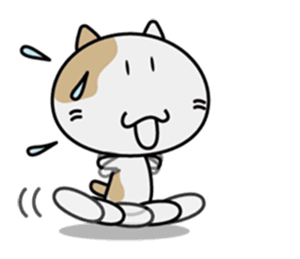 Anime Cat - New Stickers! messages sticker-4