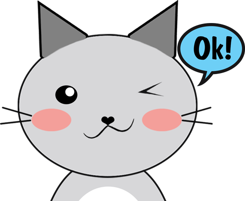 Cat - Cute stickers messages sticker-4
