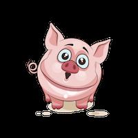 PigMoji - Best Collection Emoji & Stickers messages sticker-8