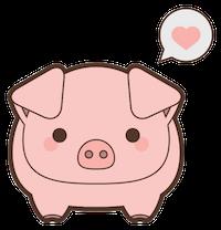 PigMoji - Best Collection Emoji & Stickers messages sticker-1