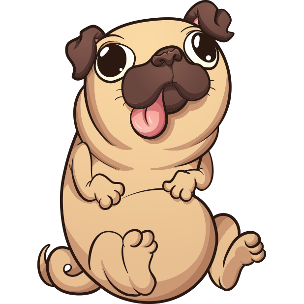 PugLife - Pug Emoji & Stickers messages sticker-8