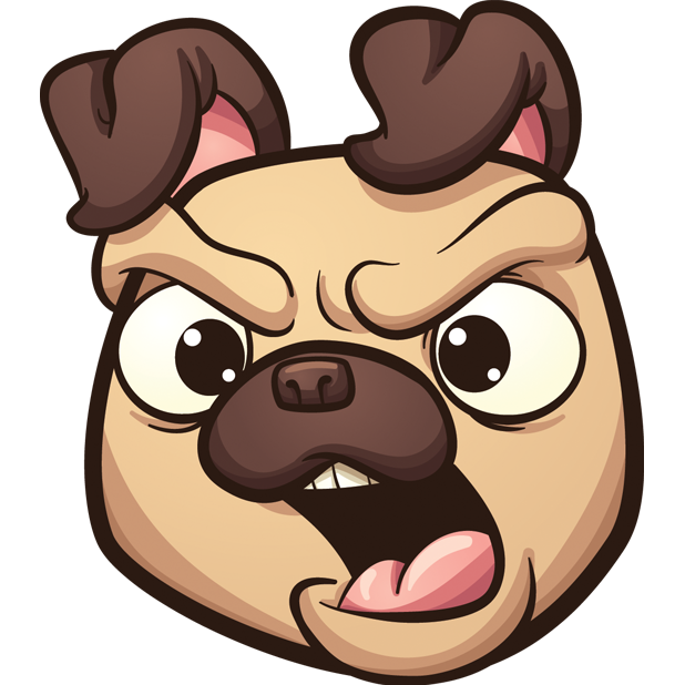 PugLife - Pug Emoji & Stickers messages sticker-4