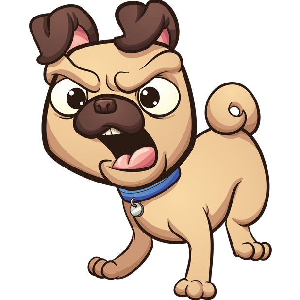PugLife - Pug Emoji & Stickers messages sticker-6