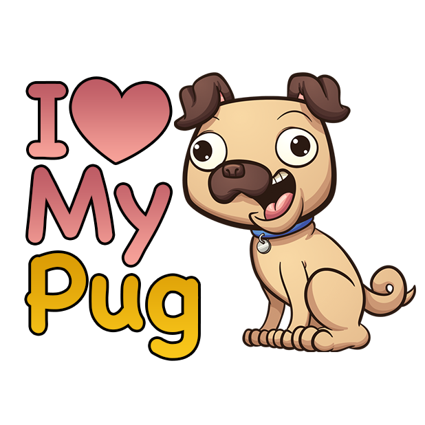 PugLife - Pug Emoji & Stickers messages sticker-11
