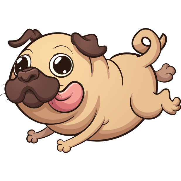 PugLife - Pug Emoji & Stickers messages sticker-9