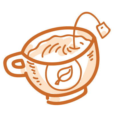 Tea time! iMessage stickers messages sticker-0