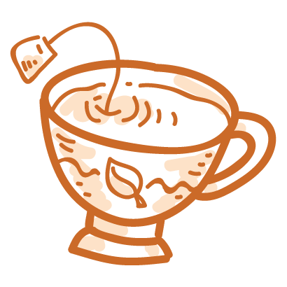 Tea time! iMessage stickers messages sticker-5