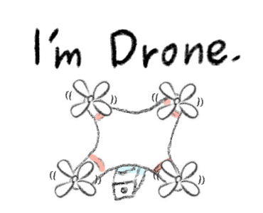 Animated Happy Drones Sticker messages sticker-1