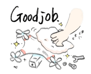 Animated Happy Drones Sticker messages sticker-9