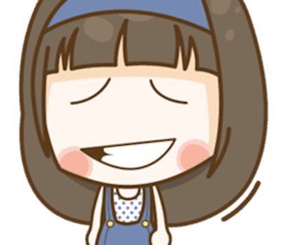 Cutie Girl Emotion messages sticker-5