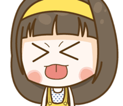 Cutie Girl Emotion messages sticker-2