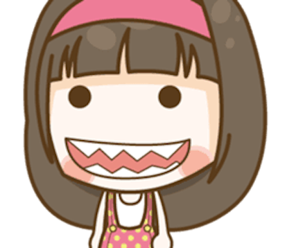 Cutie Girl Emotion messages sticker-4