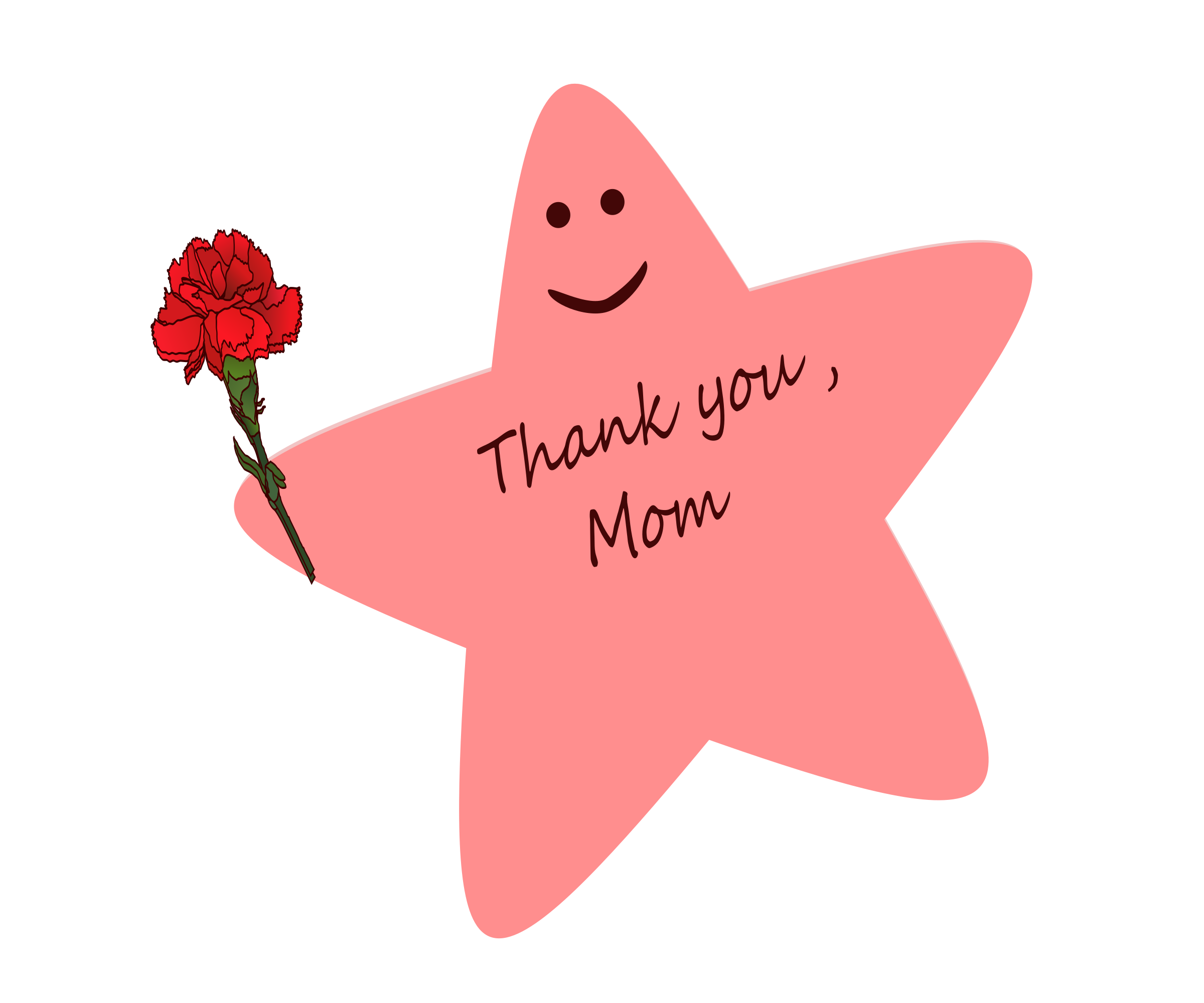 mothers day really star - HD2400×2000