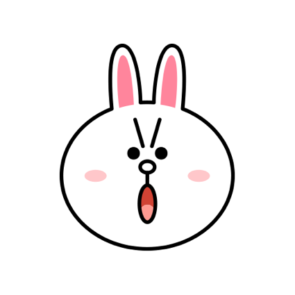 Cheerful CONY - LINE FRIENDS messages sticker-1