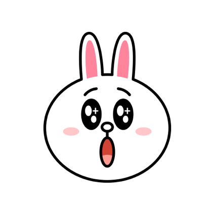 Cheerful CONY - LINE FRIENDS messages sticker-8