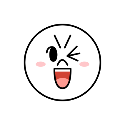 Witty-MOON Emoji - LINE FRIENDS messages sticker-0