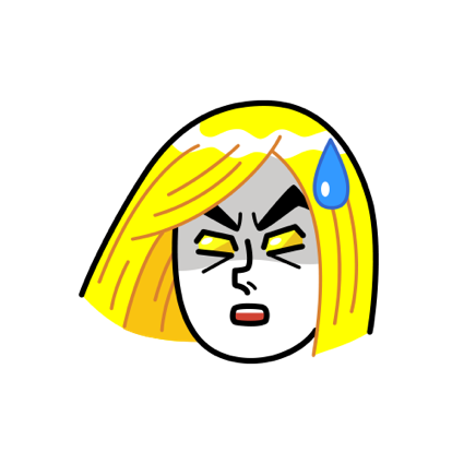 Narcissist, JAMES Emoji - LINE FRIENDS messages sticker-6