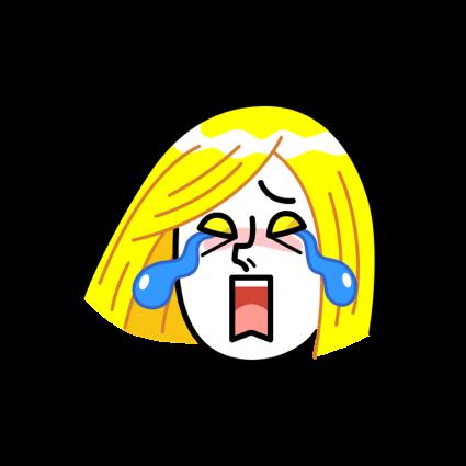 Narcissist, JAMES Emoji - LINE FRIENDS messages sticker-8