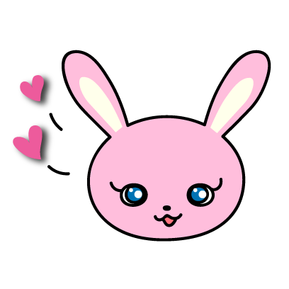 Sticker pack Lovely Bunny Mimi messages sticker-1
