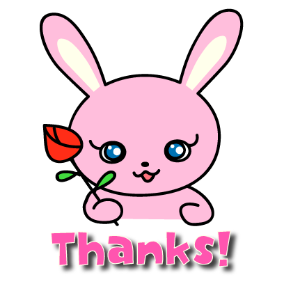 Sticker pack Lovely Bunny Mimi messages sticker-0