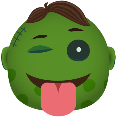 Zombie - Stickers for iMessage messages sticker-7