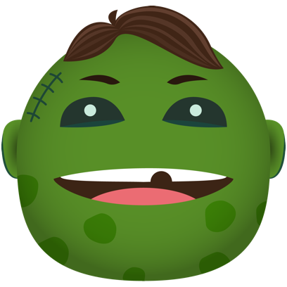 Zombie - Stickers for iMessage messages sticker-1