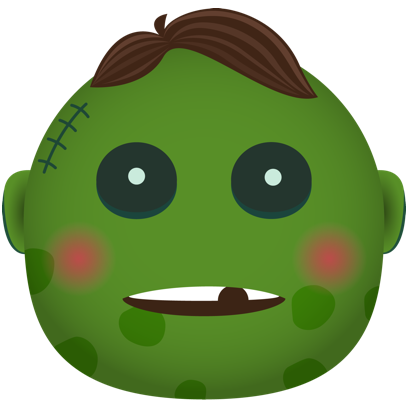 Zombie - Stickers for iMessage messages sticker-5