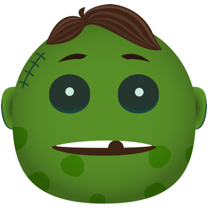 Zombie - Stickers for iMessage messages sticker-6