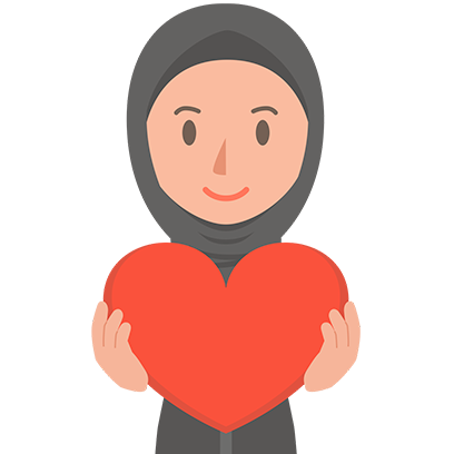 Muslimoji woman messages sticker-8